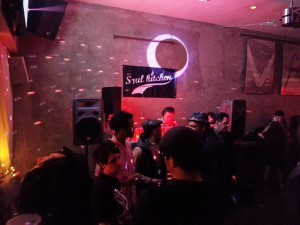 DJ Edgar Reyes (Soul Kitchen) on the 1s & 2s